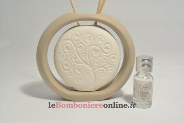 profumatore vaso in porcellana con kit essenza Claraluna
