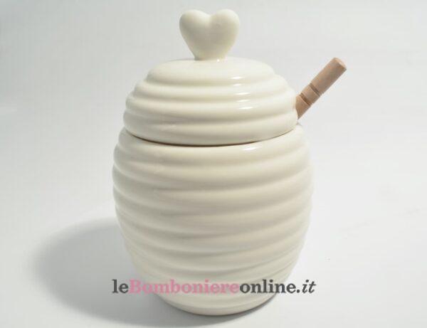 barattolo per miele in porcellana Claraluna