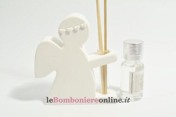 diffusore angelo in gesso con kit essenza Claraluna