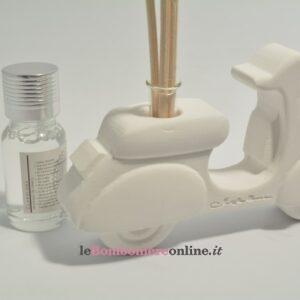 diffusore vespa in gesso con kit essenza Claraluna