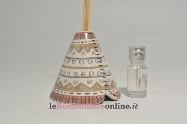 profumatore in porcellana con kit essenza Claraluna