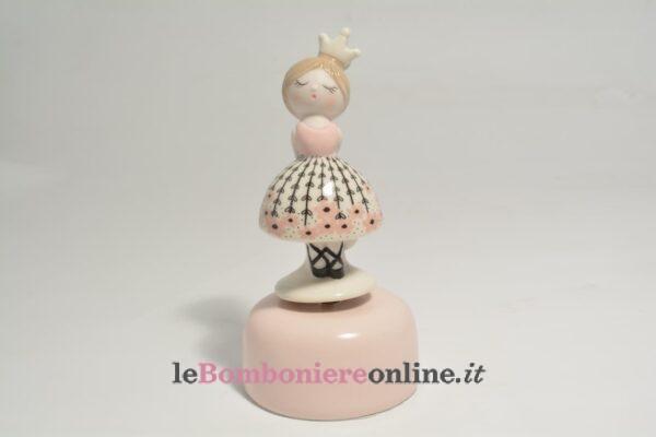 carillon con principessa in porcellana Claraluna