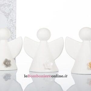 angioletto in porcellana bisquit con led Cuorematto