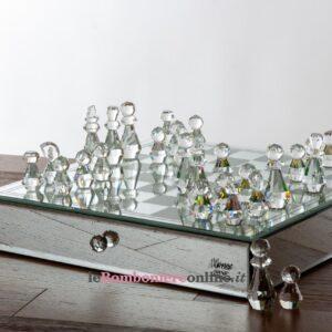 scacchiera in cristallo Morena