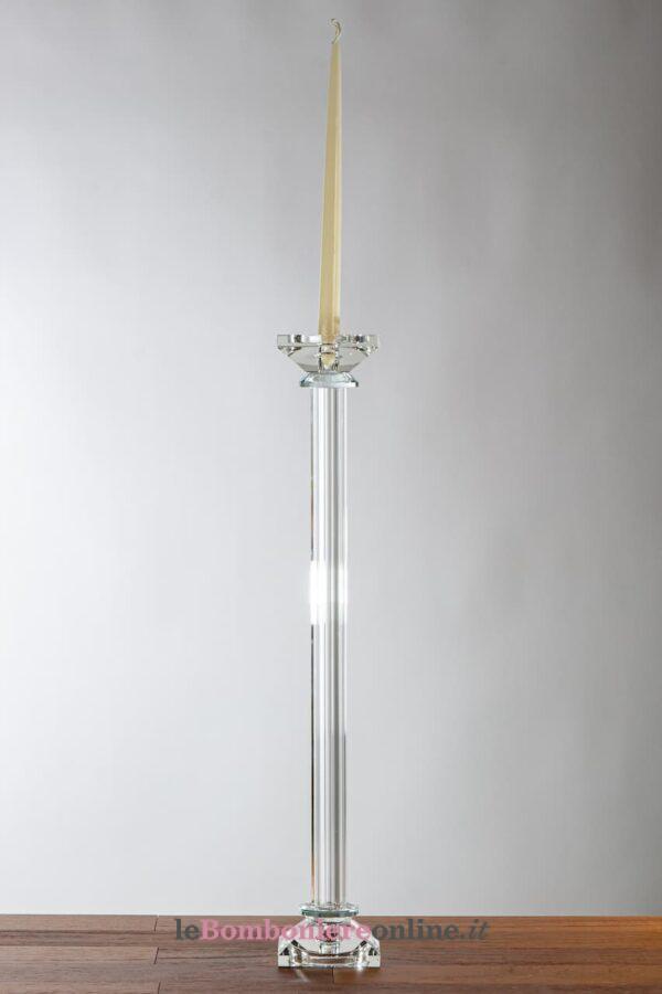 candeliere in cristallo Morena