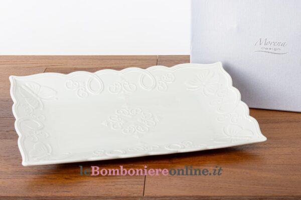 vassoio in porcellana Morena