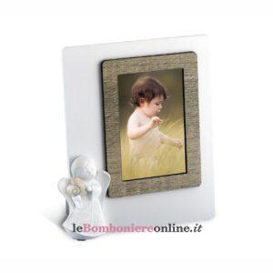 Portafoto con angelo in legno