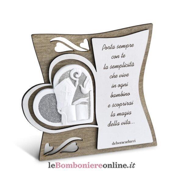 Icona con poesia Cresima Debora Carlucci