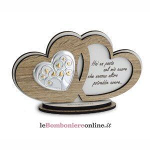 Icona cuori legno albero della vita Debora Carlucci