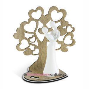 Innamorati con albero linea Pitti Debora Carlucci