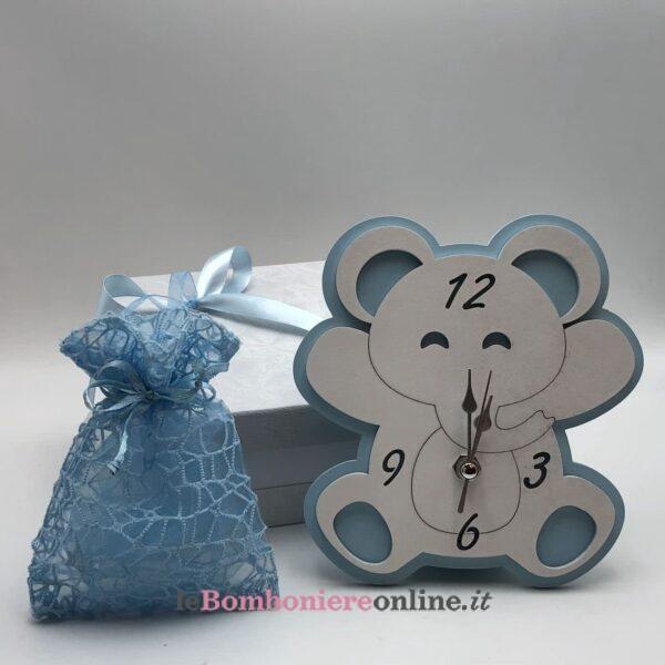 Orologio elefante in legno Mariella Martini
