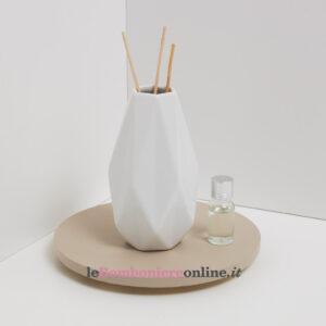 vaso o diffusore in porcellana Claraluna