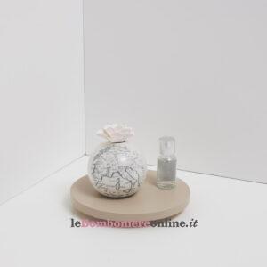 profumatore mondo in porcellana Claraluna