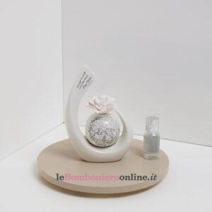 profumatore in porcellana mondo Claraluna
