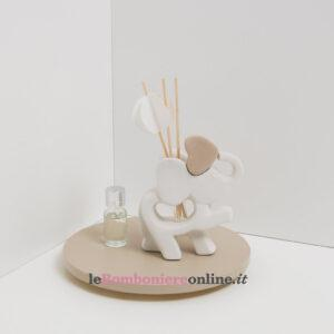 profumatore elefantino con kit essenza e origami Claraluna