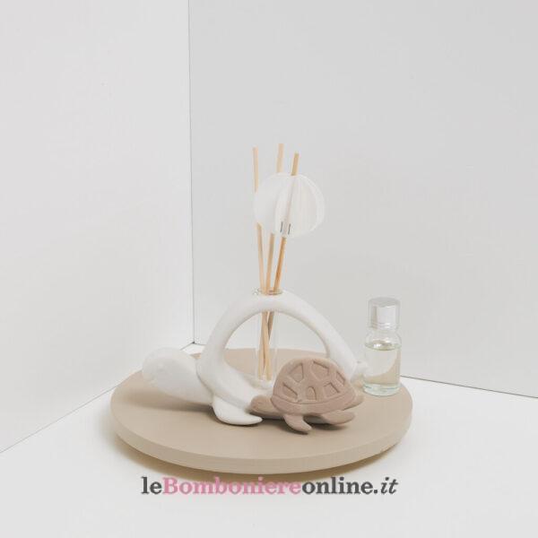 profumatore tartarughe con kit essenza e origami Claraluna