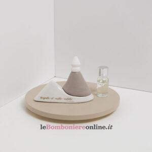 profumatore in porcellana Vesuvio Claraluna