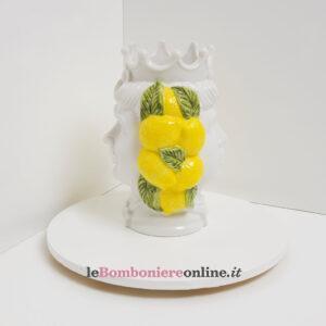 tasta di moro doppia faccia decoro limoni Claraluna