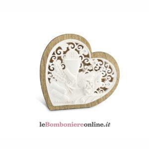 Icona Comunione Debora Carlucci retro legno linea Donatello