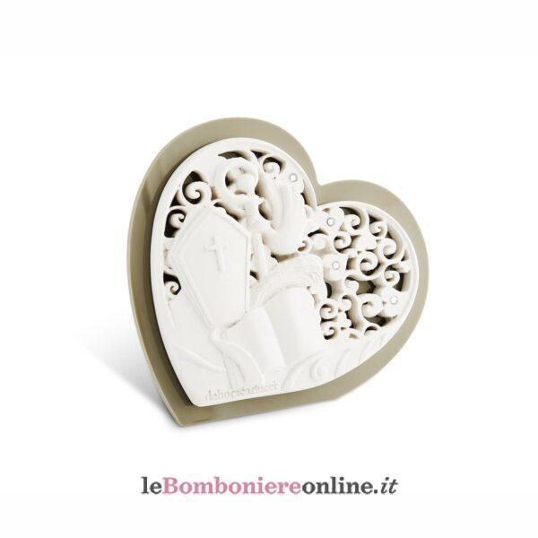 Icona Cresima retro in legno Debora Carlucci linea Donatello
